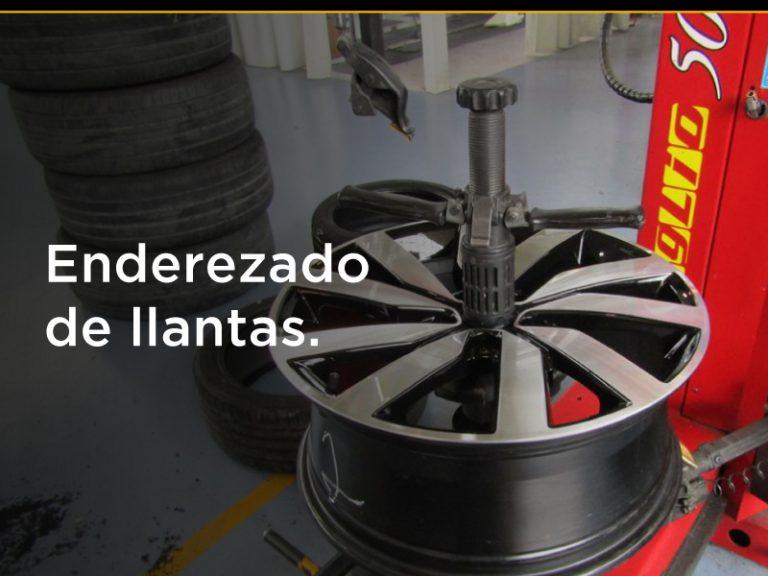 ENDEREZADO DE LLANTAS