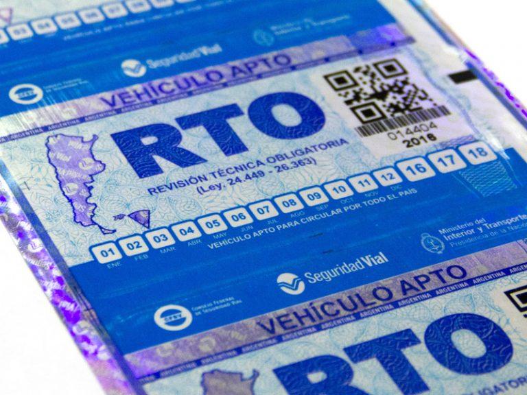 Revisión Técnica Obligatoria – RTO